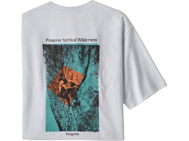 Patagonia Granite Magic Pocket Responsibili-Tee Men white
